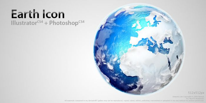 Earth Icon by Nemed