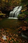 Crab Orchard Branch Falls by TRBPhotographyLLC