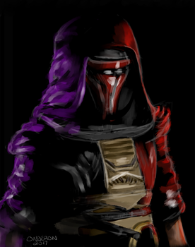 Darth Revan - Heart of the Force by StravaganzeArt