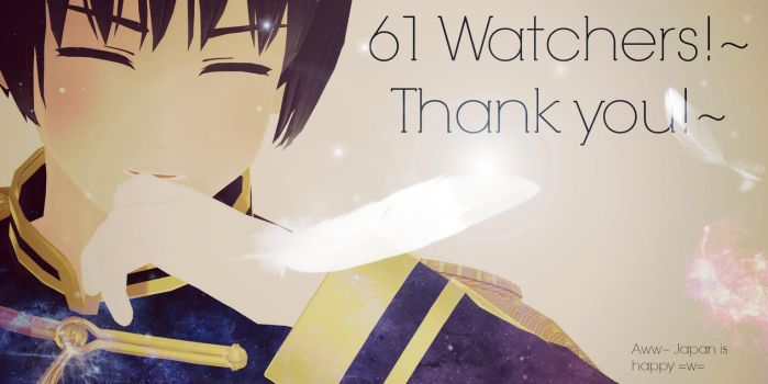 Thank you for 61 Watchers!~ by Quincy1313