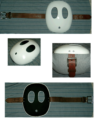 Shy Guy Mask Detail by 3092