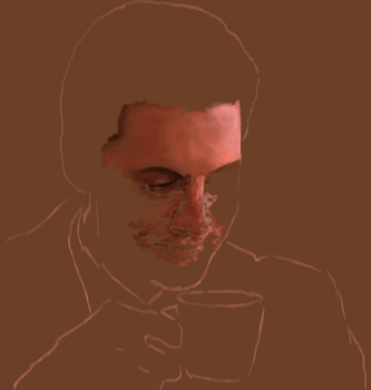Agent Cooper WIP by SpaceDelusion