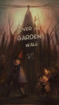 Over the garden wall by CyanideSunflower