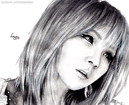 Lee chae Rin by Laaury