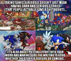 Taking Sonic seriously 2 by Psyco-The-Frog