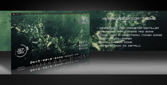 HYBRID DESKTOP THEME by MIATARI