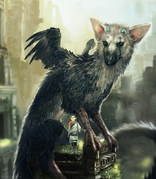 The Last Guardian by NukeRooster