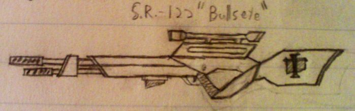 Sniper rifle by Dastardlyninjas