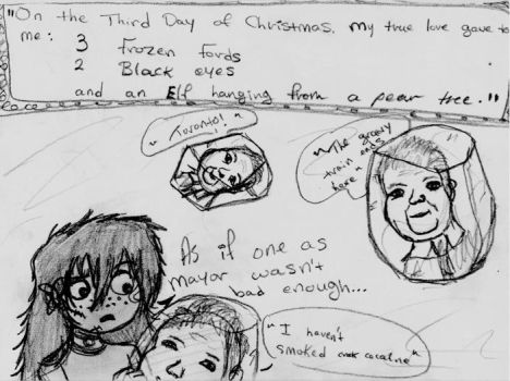 Third Day of Christmas by ReAnimatedDoll