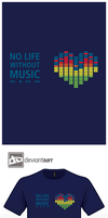 Design Challenge - No Life without Music by mantarosan