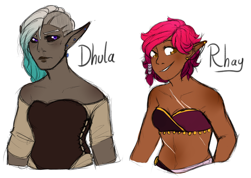 Dhula And Rhay by CrispyCh0colate