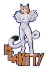 Art Trade - MeaKitty Badge by Exo-Formicidae