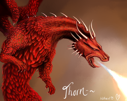 Flamechild Detail by Inbetwixt93