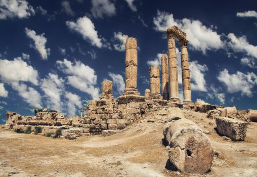 Temple of Hercules by smoothpappa