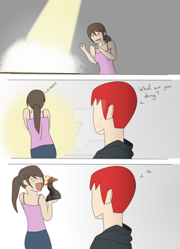 Just a Short random comic! by H4Productions