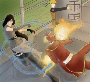 Front in Time | Contest Entry | Naruto by iFell-intoTheSky