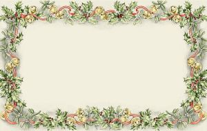 Christmas Border Bg by cazcastalla