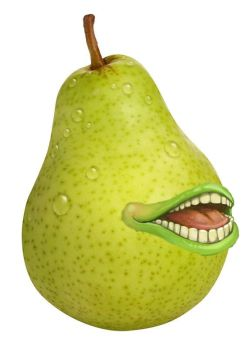 (Almost real) Pear of Salamanca by Fogrotten
