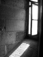 Window in tower by g8x