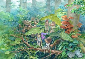 Colobockle of forest by efira-japan