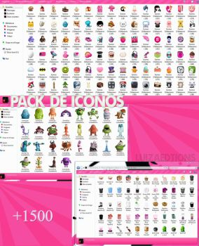 Pack de Iconos para Iconpackager~ by LuizaEditions