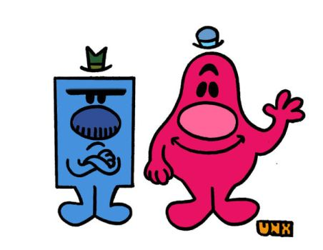 Mr.Grumpy And Mr.Scatterbrain by UnknownX