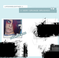 latex very grunge brushes by NotFadeAway