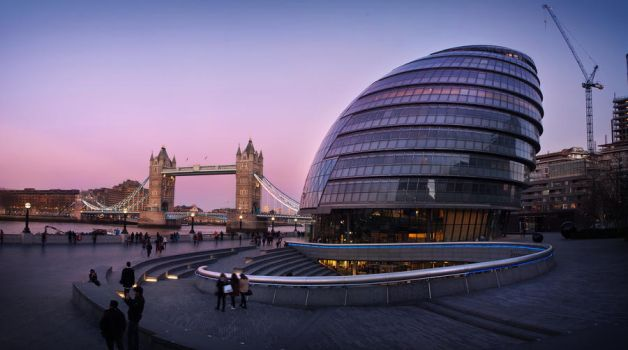 City Hall Panorama by TamarViewStudio