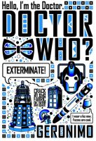 Doctor Who: Poster by jacqui-kate