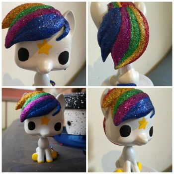 Custom Rainbow Brite Starlite Pop Funko by Gippaloo