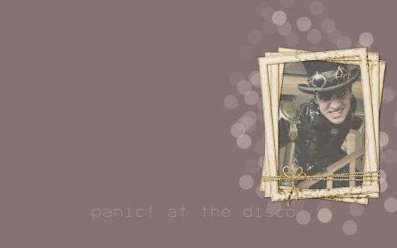 Panic At The Disco wallpaper by flatlace