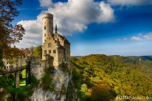 Castle Lichtenstein by fotomanisch