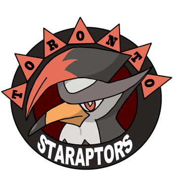 Staraptors Logo by Chain-Of-Ashes