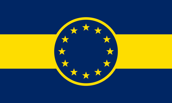 Alternate European Union Flag Design by AlternateHistory