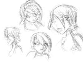 Female Character Concept Sketches by GregEales