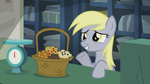 Derpy with a basket of muffins S5E9 by Tardifice