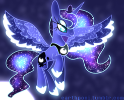 Luna Redraw by earthponi