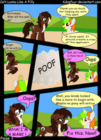 Colt Looks Like A Filly : Page 1 by Fishinabarrrel