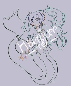 Wip Mermaid by Hatsuko-senju