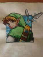 Link in stitches by Clairtjow