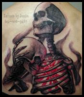 Love in Death by jacksonmstattoo