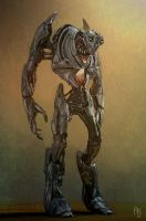 Robot Concept 4 by aaronsimscompany