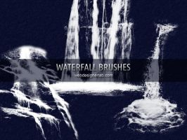 Waterfall Brushes by xara24