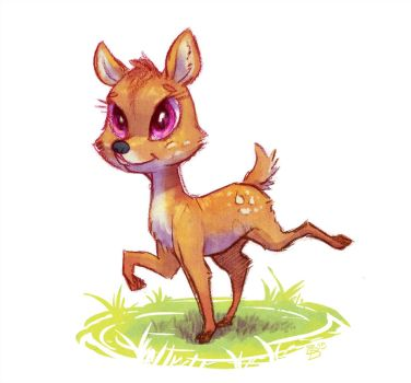 Colored Doe-dle by Brendavid
