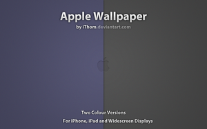Apple Wallpaper by iThom