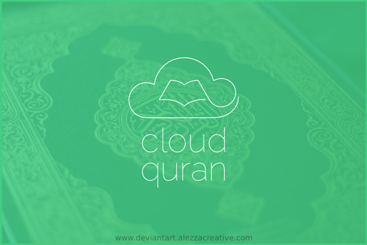 Cloud quran logo by alezzacreative