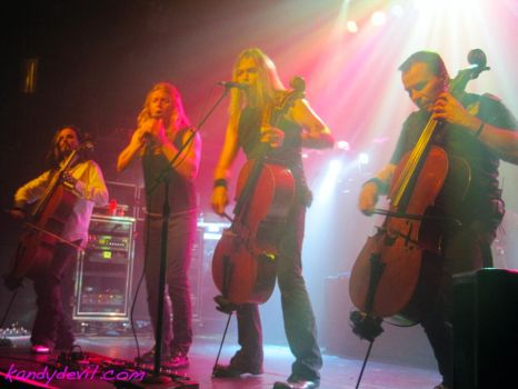 Apocalyptica NYC by kandydevil