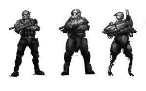 Soldier Concepts by Hazzard65