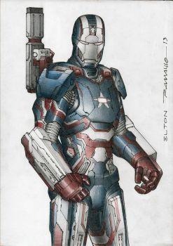 Iron Patriot by eltonramalho