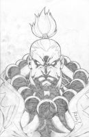 Ultamate Akuma finish by bobbett